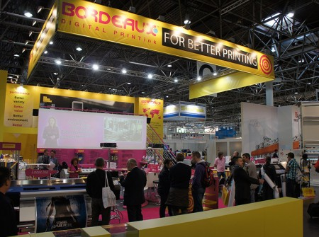 Bordeaux Digital PrintInk Ltd. @ Drupa 2012